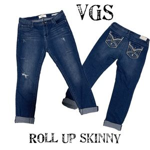 COPY - VGS rolled up skinny size 12